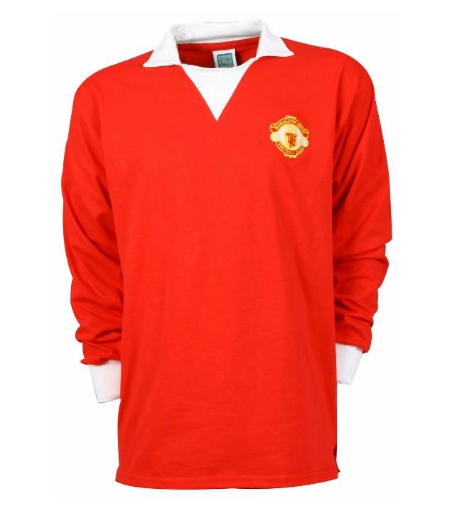 แมนยูล่าสุด: เสื้อแมนยูเชสเตอร์ ยูไนเต็ดย้อนยุค 1973 Retro Home Shirt