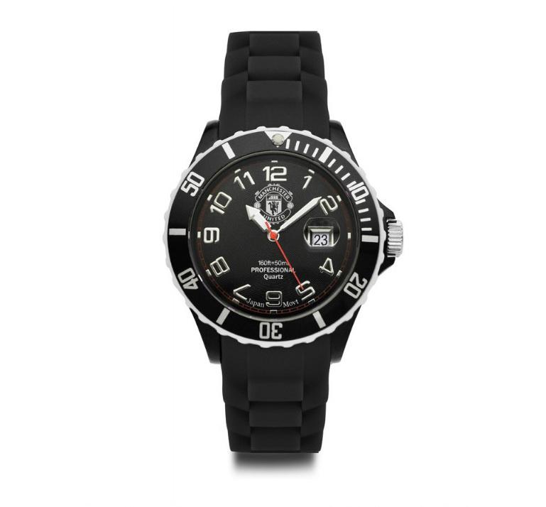 แมนยูล่าสุด: นาฬิกาแมนยู ของแท้ 100% Manchester United Analogue Silicon
